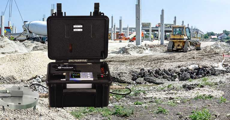 SV958A Pro on construction site