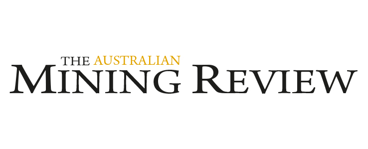 The Australian Mining Review logo