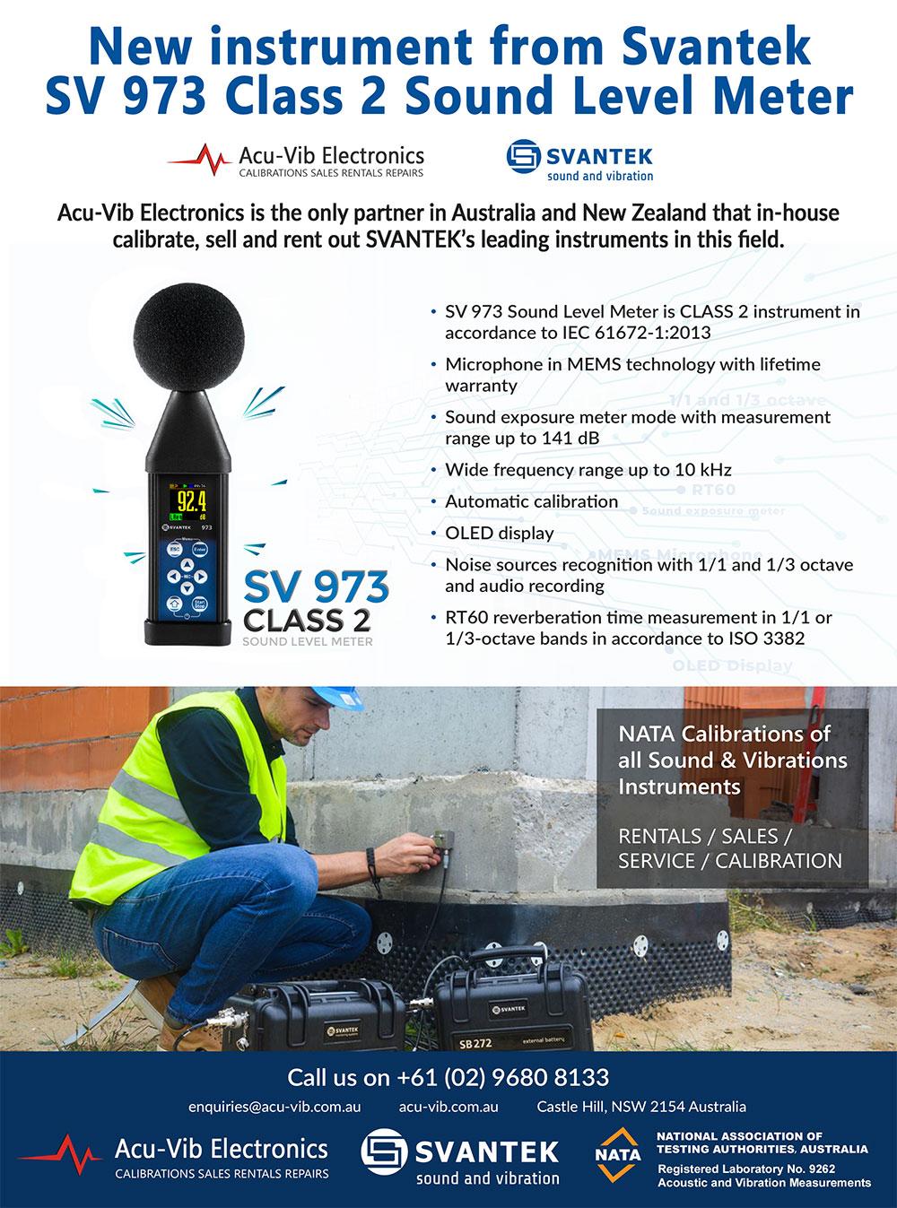 Acu-Vib Acoustic Australia December ad
